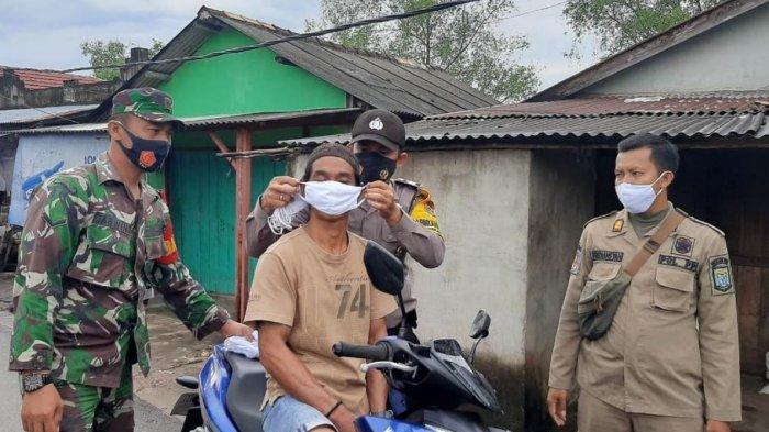 Ops Yustisi Bangka Tengah Sosialisasikan Disiplin Protokol Kesehatan ke Masyarakat