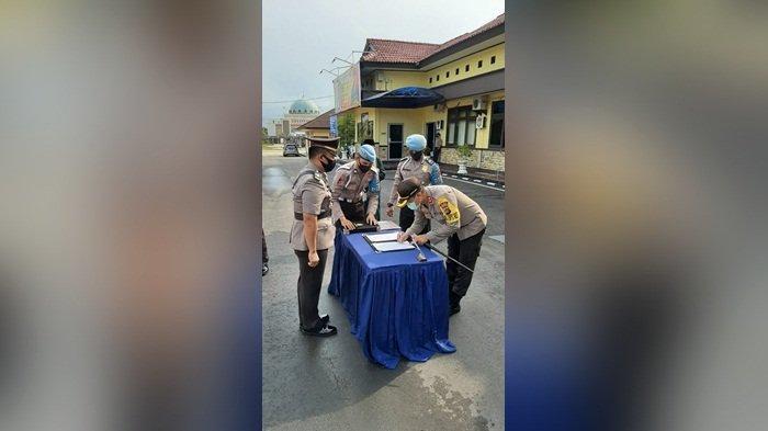Dua Perwira Polres Bangka Tengah Dapat Jabatan Baru