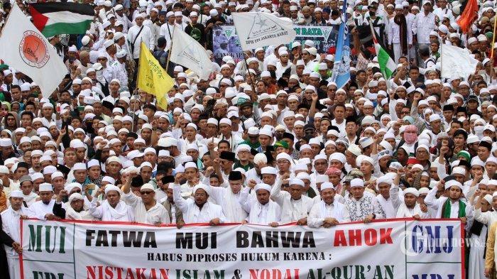 FPI Bantah Terima Rp 10 Miliar untuk Demo Ahok: Itu Dana Gotong Royong