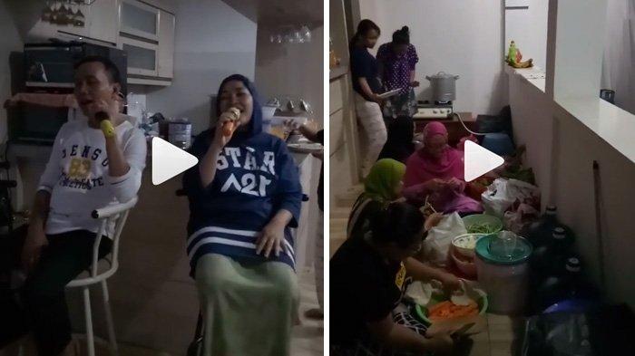 Netizen Geram Lihat Orangtua Ayu Ting Ting Duduk di Atas Kursi, Padahal yang Lain Lesehan