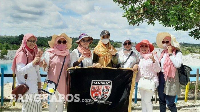 Tour De Bangka, Pajero Indonesia One, Kunjungi Danau Kaolin, Algafry Sebut Beri Warna Baru