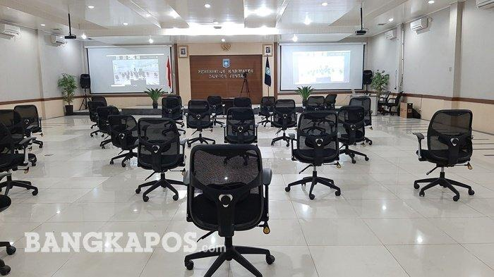 Pemkab Bangka Tengah Gelar Gladi Resik Pelantikan Bupati, Sugianto Sebut Ikuti Keputusan Provinsi