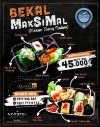 Pamflet Bekal MakSiMal (makan siang dan malam)