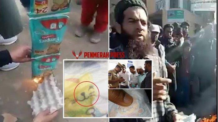 Muslim India Protes Perusahaan Pampers, Kucing Kartun dengan Nama Nabi