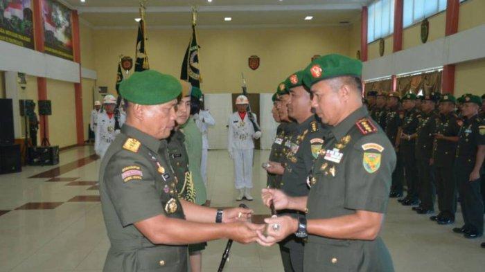 Pangdam II/Sriwijaya Pimpin Upacara Sertijab Danrem 045/Gaya