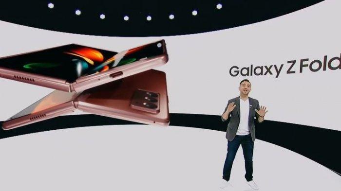 Samsung Resmi Luncurkan Ponsel Layar Lipat Terbaru, Galaxy Z Fold 2, Ini Harganya