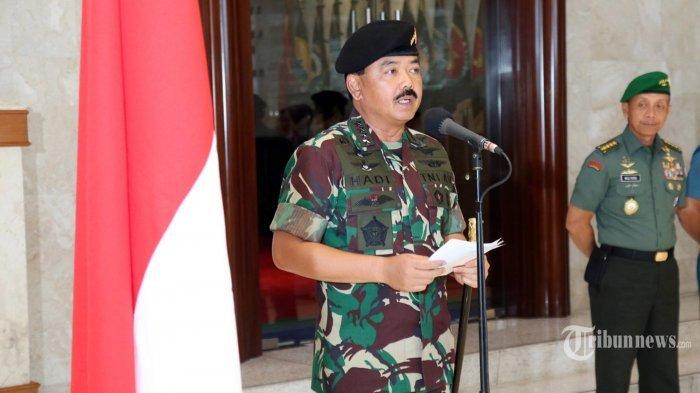 Panglima Mutasi 104 Perwira Tinggi TNI, Ada Kasum, Pangdam Jaya dan Danjen Kopassus