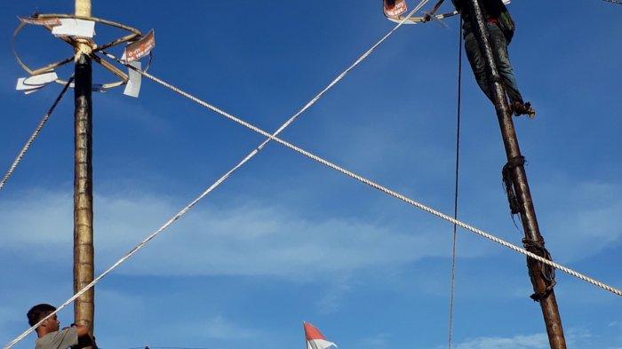Sejarah Lomba Panjat Pinang, Ternyata Dulu Diadakan sebagai Hiburan Acara Pernikahan dan Hajatan