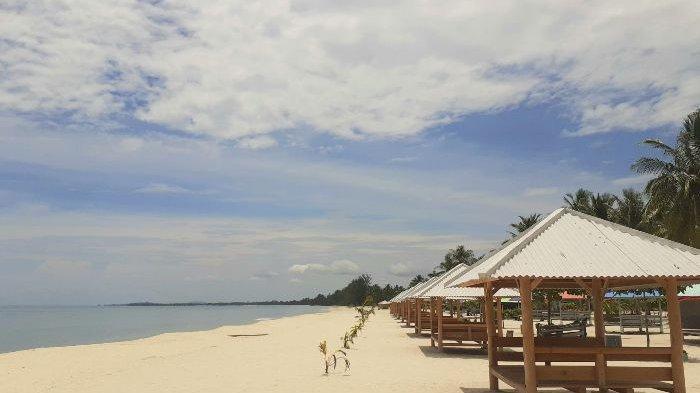 Wisata Baru di Pulau Bangka , Pantai Tuing Mapur Tawarkan Pesona Pasir Putih dan Birunya Air Laut - pantai-tuing-6.jpg