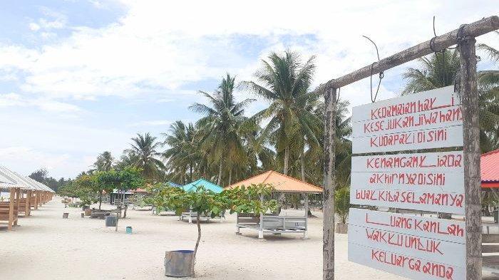 Wisata Baru di Pulau Bangka , Pantai Tuing Mapur Tawarkan Pesona Pasir Putih dan Birunya Air Laut - pantai-tuing5.jpg