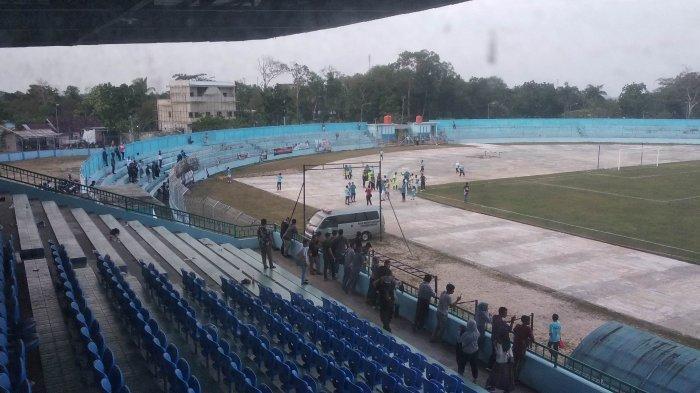 Babel United FC Tutup Laga Terakhir di Kandang Dengan Manis