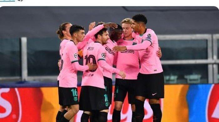 Hasil Klasemen Liga Champion Barcelona & Munchen Lolos 16 Besar, Liverpool Tertahan, Inter Terjepit