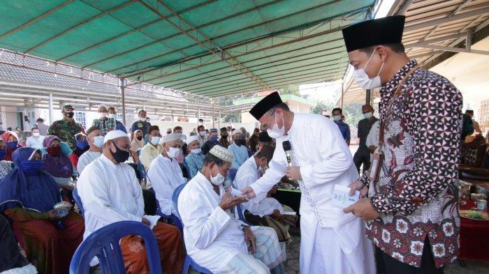 Pemprov Bangka Belitung Bantu Dana Senilai Rp 500 Juta untuk Pembangunan Masjid Sirotul Mustaqim