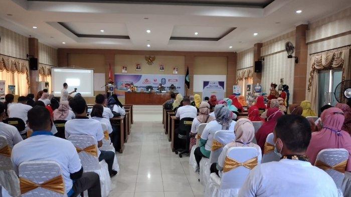 Pelatihan UMKM Bangka, Asep Berharap Produk Bisa Dipasarkan Keluar Pulau