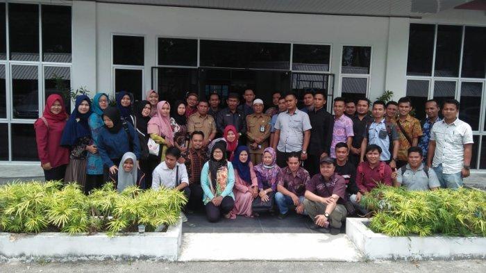 Kurang Diperhatikan Pihak Pemdes, Sarjana Membangun Desa Ngadu ke DPRD Kabupaten Bangka