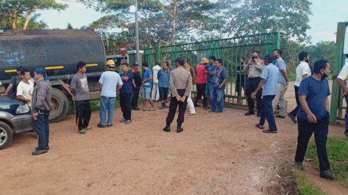 Sopir Pengangkut CPO Unjuk Rasa Minta Perpanjangan Kontrak Kerja, Begini Penjelasan Polisi