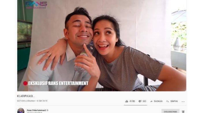 Perasaan Nagita Slavina Saat Raffi Ahmad Vakum dari Dunia Hiburan 4 Bulan hingga Celotehan Mama Amy