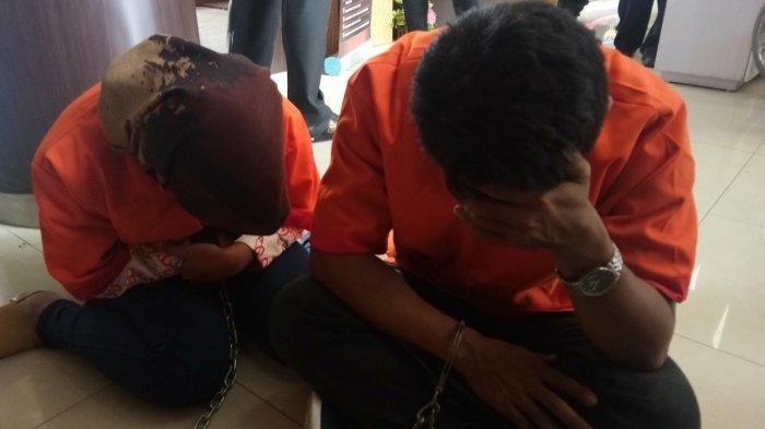 Pasangan suami istri yang terlibat layanan jasa threesome diamankan polisi