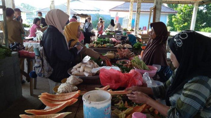 Pantau Harga Jelang Ramadan, Tim TPID Lakukan Monitoring di Pasar Namang dan Air Mesu
