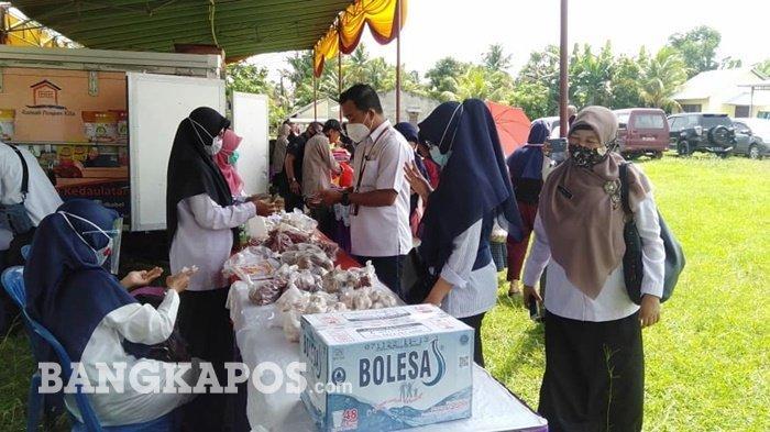 Disperindag Bangka Belitung Gelar Pasar Murah di Desa Ini Lokasinya
