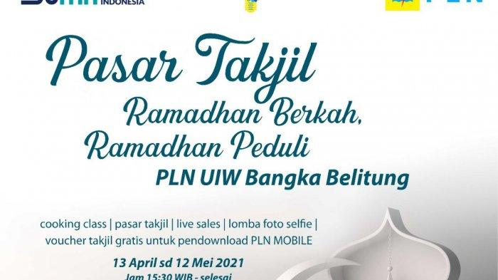 PT PLN Peduli Gelar Pasar Takjil Selama Bulan Suci Ramadhan