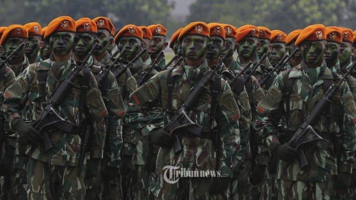 Personil Paskhas TNI