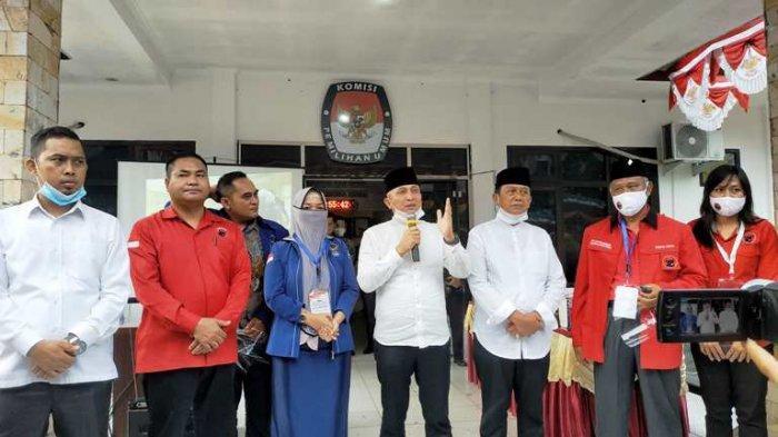 Didit Srigusjaya Lega Sudah Mendaftar ke KPU Bateng, Prosesnya Singkat