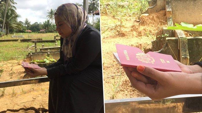 Tak Sadar, Niat Wanita Ini Mau Baca Surat Yaasin di Pemakaman, 'Buku' yang Dibawa Malah Bikin Ketawa