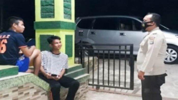 Antisipasi Kejahatan C3 dan Beri Imbauan Prokes 3 M , Polsek Riausilip Gelar Patroli Malam