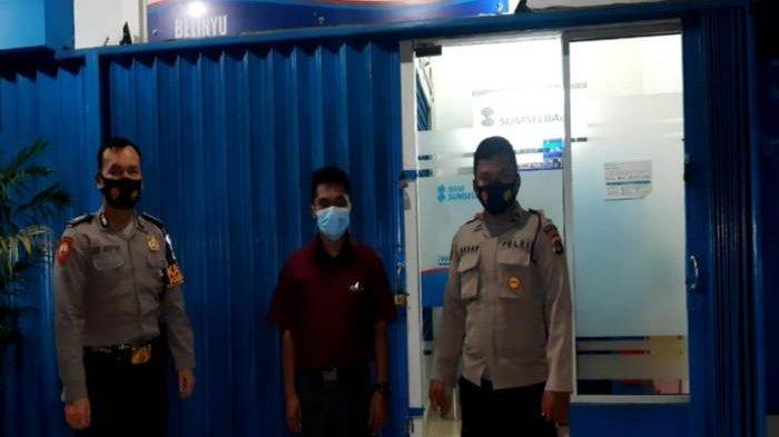 Polsek Belinyu Gencarkan Patroli Malam, Imbau Jaga Kamtibmas dan Disiplin Prokes 3M