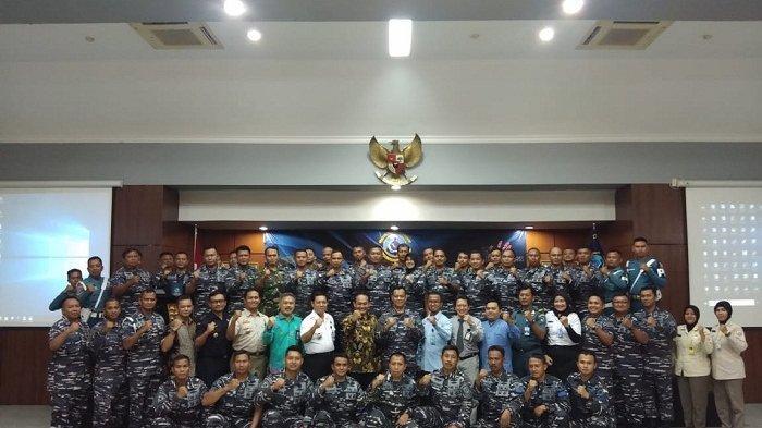 TNI-AL Babel Pertama se-Indonesia Deklarasi Zona Integritas