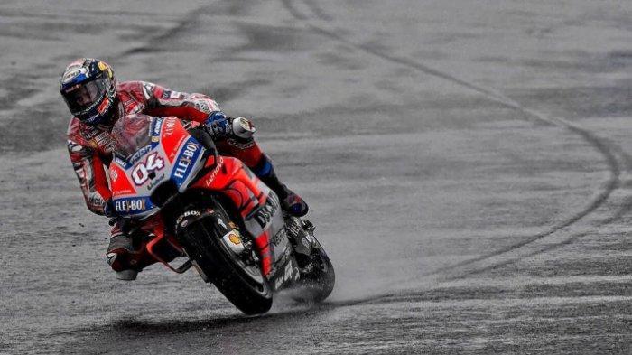 Kibaran Bendera Merah Warnai Kemenangan Andrea Dovizioso Pada Seri Pamungkas MotoGP 2018
