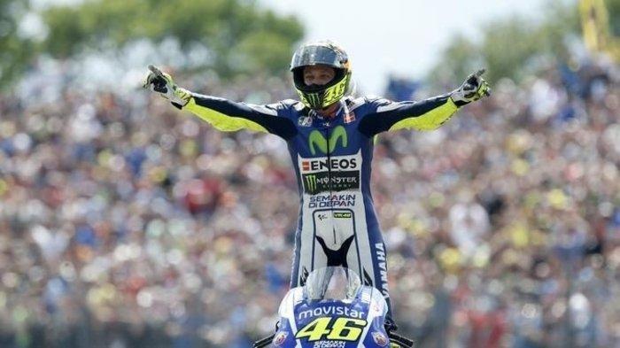 Valentino Rossi Kukuhkan Diri Sebagai Raja MotoGP San Marino