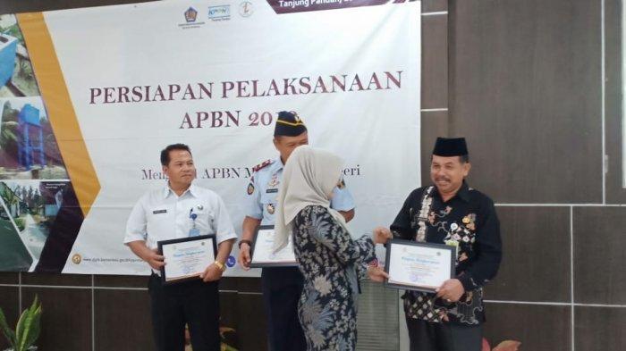 Kemenag Beltim Raih Penghargaan dari Kementerian Keuangan