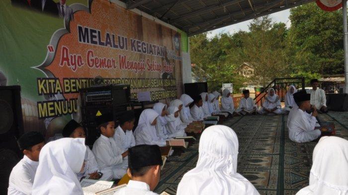 Pelajar Riausilip Ikuti Ayo Gemar Mengaji Setiap Hari