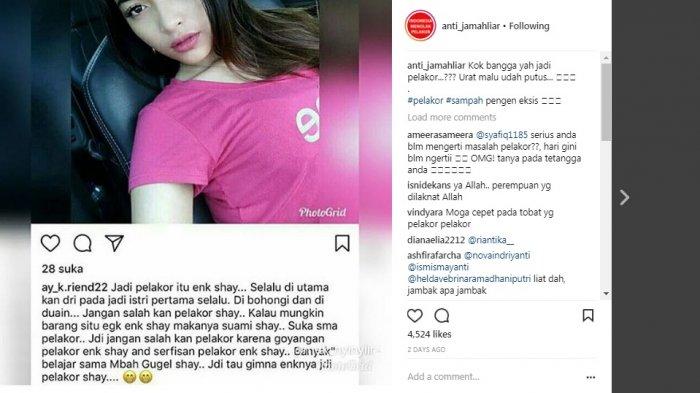 Wanita Cantik Ini Bangga Jadi Pelakor Suruh Para Istri Belajar Nyervis Suami Halaman All Bangka Pos