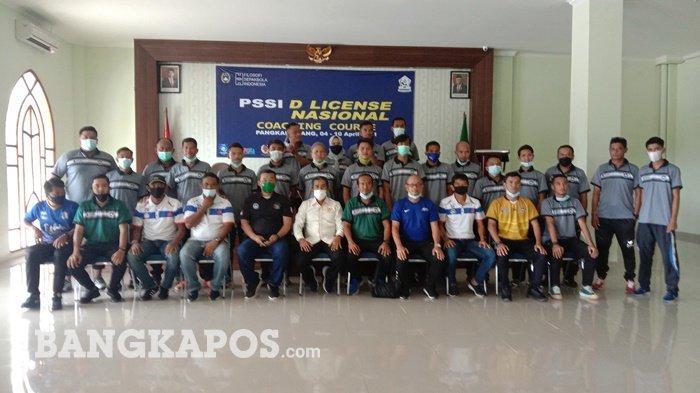 Kursus Kepelatihan Sepak Bola Level D Nasional Diikuti 21 Peserta