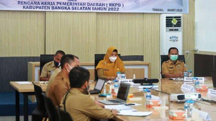 Wabup Bangka Selatan Imbau OPD Sampaikan Ide dan Gagasan Dalam Perumusan RPJMD dan RKPD