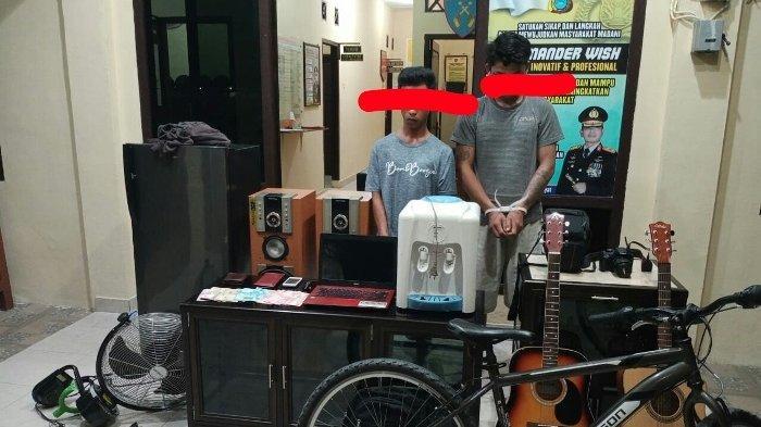 Komplotan Pencuri di Pemali Libatkan Pelajar dan Dua Masih Buronan