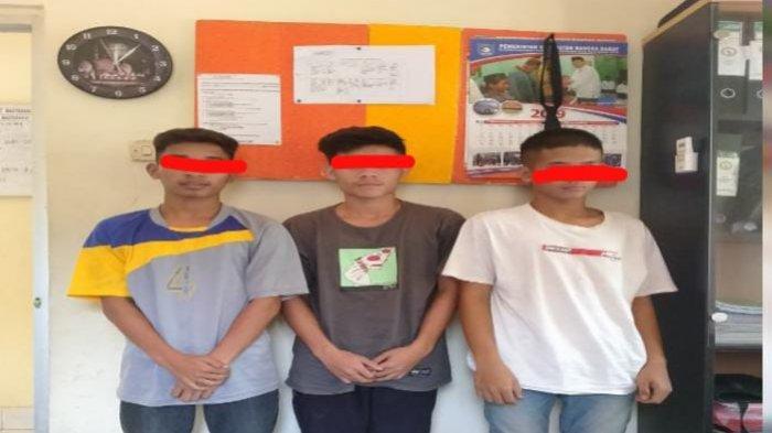 Tiga Terduga Pengeroyokan di Dusun Tungau Dicokok Polisi, Dua Pelaku Masih Pelajar