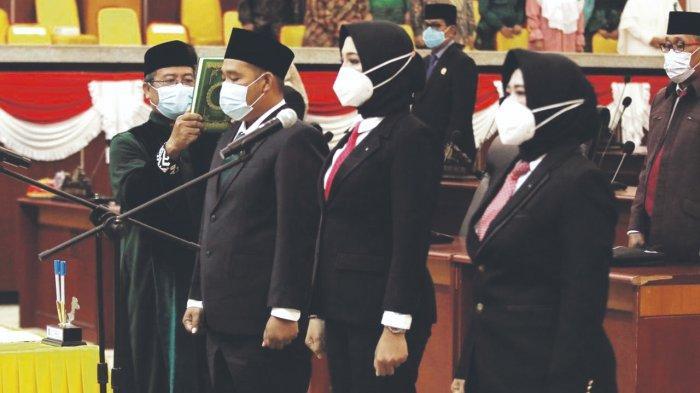 Tiga Anggota PAW DPRD Babel Resmi Dilantik