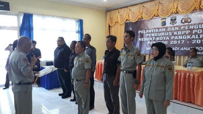 Marhoto Resmi Pimpin KBPP Polri Resort Pangkalpinang