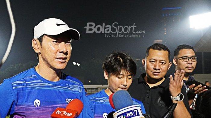 Pemain Timnas Ngoper Bola Tak Bisa, Malu Sama Anak SD, Perkataan PedasShin Tae-yong Genjot Semangat