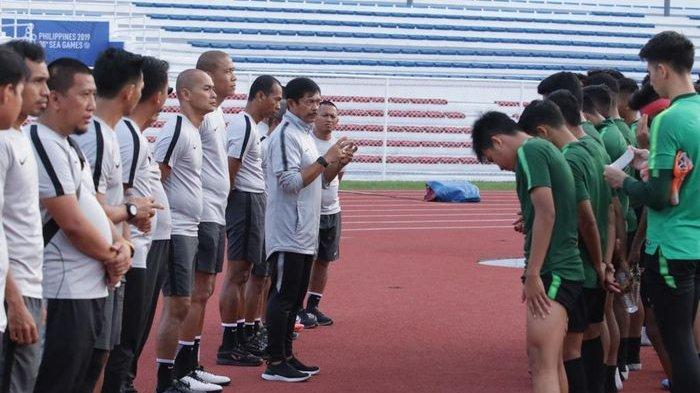 Duel Tim Sudah Lama Puasa Gelar, Indra Sjafri Bernazar Jika Timnas U-22 Indonesia Raih Emas