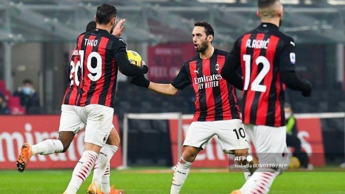 Berita Liga Italia Konsistensi Melemah, AC Milan Terancam Digusur Inter Milan