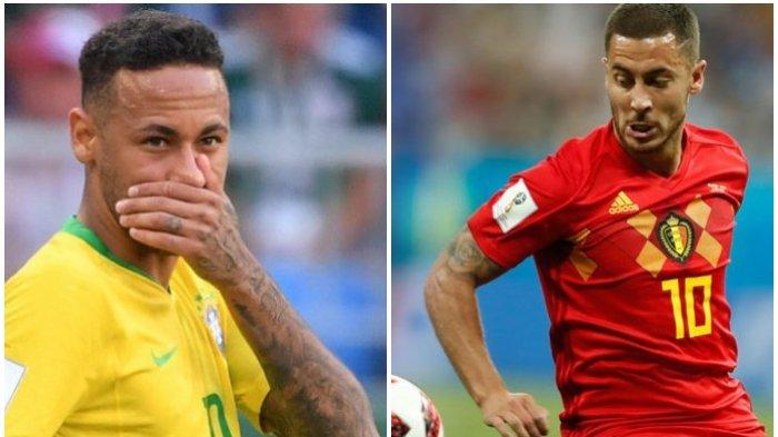 Inilah Momen Malapetaka Bagi Neymar dkk Dimulai Menit ke-1, Laga Brasil vs Belgia Piala Dunia 2018