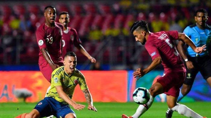 Kolombia Tundukkan Jawara Asia Qatar di Copa America 2019