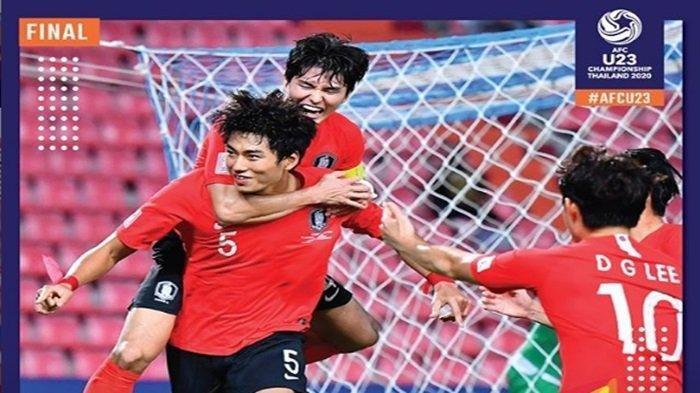 Korea Selatan Juara, Berikut Daftar Penghargaan Piala Asia U-23 2020, Pemain Thailand Top Skor