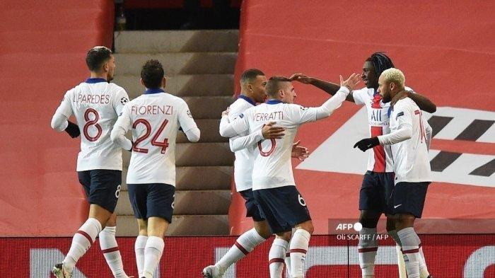 Berita Liga Champions: PSG Tumbangkan Manchester United, Neymar Bikin David de Gea Pasrah