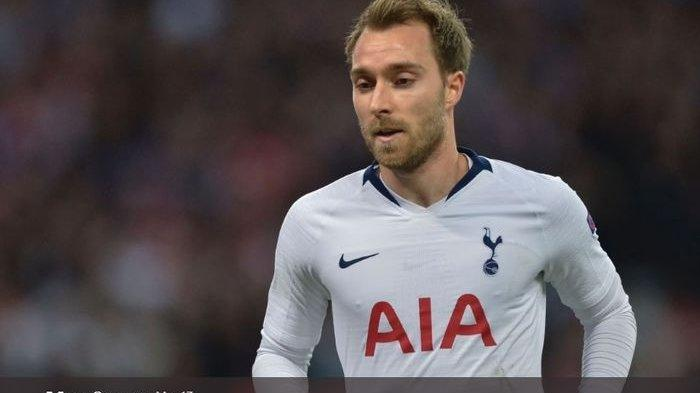 Pemain tengah Tottenham Hotspur, Christian Eriksen, saat ini sedang diincar Real Madrid.